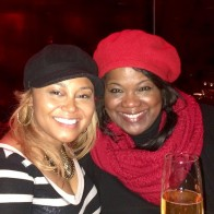 Tameka and VF in London 2014