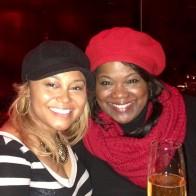 Tameka and VF in London 2014